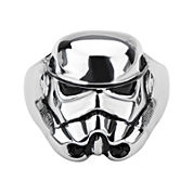 Star Wars® Stormtrooper Mens Stainless Steel Ring