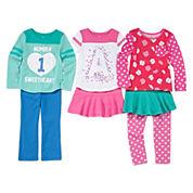 Okie Dokie® Tees or Pants - Toddler Girls 2t-5t