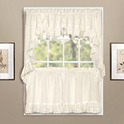 United Curtain Co. Vienna Rod-Pocket Kitchen Curtains