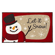 JCPenney Home™ Let it Snow Accent Rug
