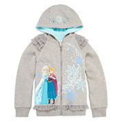 Disney Collection Frozen Fleece Jacket - Girls