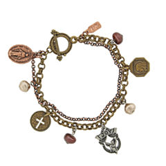 Symbols Of Faith Religious Jewelry Womens Charm Bracelet