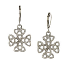 Symbols Of Faith Religious Jewelry Drop Earrings