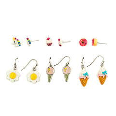 Carole 6 Pair Earring Sets