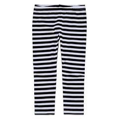 Okie Dokie Stripe Knit Leggings - Preschool Girls