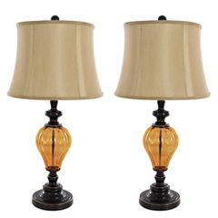 Lavish Home Not Applicable 2-pc. Table Lamp