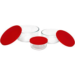 Pyrex® Value Pack 6-pc. Round Food Storage Set
