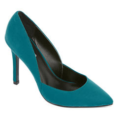Style Charles Pierce Pointed-Toe Pumps