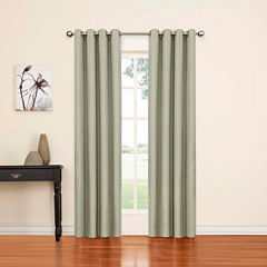 Eclipse Luxor Grommet-Top Curtain Panel