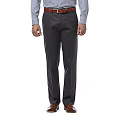 Haggar® Premium No Iron Straight-Fit Flat-Front Khakis