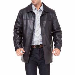 Samuel Leather Car Coat Big