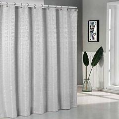 Duck River Schillman Jacquard Shower Curtain