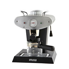 IMUSA GAU-18206 4-Cup Gourmet Espresso and Cappuccino Maker