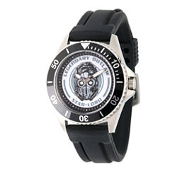 Guardian Of The Galaxy Marvel Mens Black Strap Watch-Wma000097