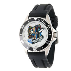 Guardian Of The Galaxy Marvel Mens Black Strap Watch-Wma000100