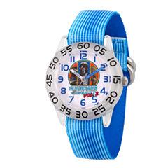 Guardian Of The Galaxy Marvel Boys Blue Strap Watch-Wma000126