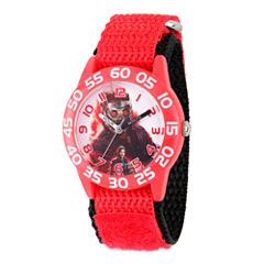 Guardian Of The Galaxy Marvel Boys Red Strap Watch-Wma000128