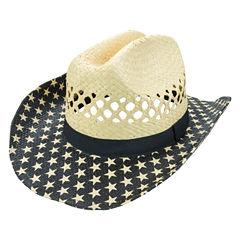 Americana Star-Brimmed Cowboy Hat