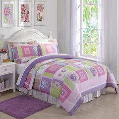 Laura Hart Kids Happy Owls Comforter Set Lightweight Comforter Set