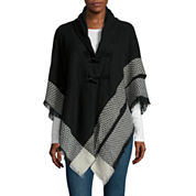 Mixit™ Pattern Border Toggle Wrap