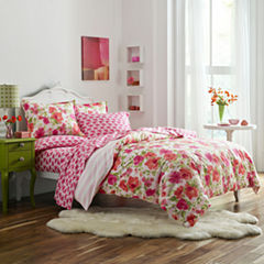 Poppy & Fritz Poppy & Fritz Buffy Bedding Collection Floral Reversible Comforter Set