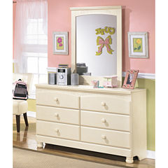 Signature Design by Ashley® Cottage Retreat Dresser and Mirror
