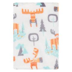 Trend Lab Woodland Moose Receiving Blanket