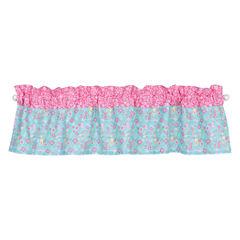 Trend Lab Tropical Tweets Rod-Pocket Curtain Panel