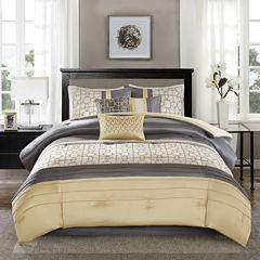 Madison Park Jeffrey 7-pc. Comforter Set