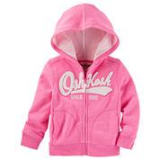 Oshkosh Girls Hoodie-Baby