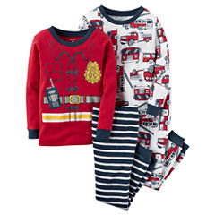 Carter's® 4-pc. Pajama Set - Baby Boys newborn-24m