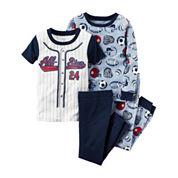 Carter's® 4-pc. Pajama Set - Toddler Boys 2t-5t