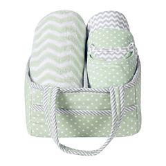 Trend Lab® Sea Foam 6-pc. Baby Care Gift Set