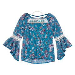 Knit Works Tunic Top - Big Kid Girls