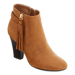 a.n.a® Dusty Braided Booties