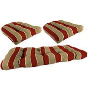 Wicker 3-pc. Cushion Set