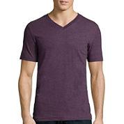 Arizona Fashion Short-Sleeve V-Neck T-Shirt