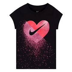 Nike Short Sleeve T-Shirt-Toddler Girls
