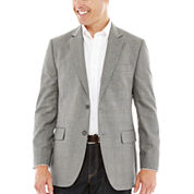 Stafford® Travel Year-Round Gray Prince of Wales Sport Coat