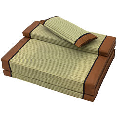 Oriental Furniture Folding Soft Tatami Mattress Fiberbed