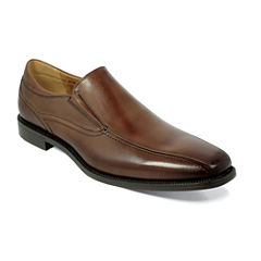 Florsheim® Portico Mens Leather Bike-Toe Slip-On Dress Shoes
