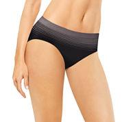 Bali® Comfort Revolution® Damask High-Cut Panties - 303J