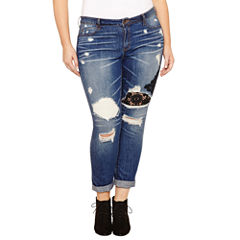 Rewash Skinny Jeans-Juniors Plus