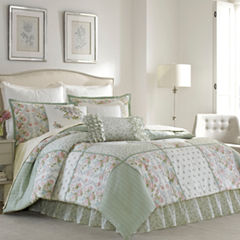 Laura Ashley Harper 4-pc. Quilt Set
