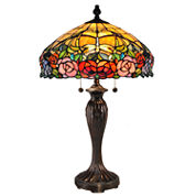 Dale Tiffany™ Zenia Rose Table Lamp