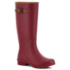Chooka Fashion City Solid Womens Waterproof Rain Boots