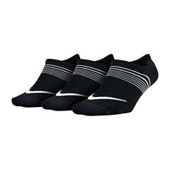 Nike® 3-pk. Lightweight Footie Socks