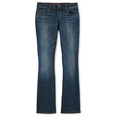 Arizona Bootcut Jeans - Girls 6-16 and Plus