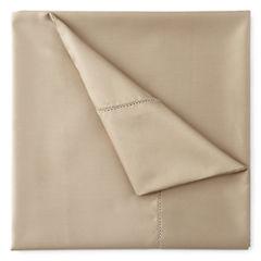Royal Velvet® 500tc Wrinkle-Free Damask Solid Sheet Set