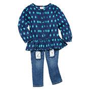 Arizona Woven Top or Denim Jeans - Baby Girls 3m-24m